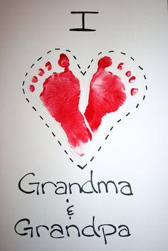 footprint heart