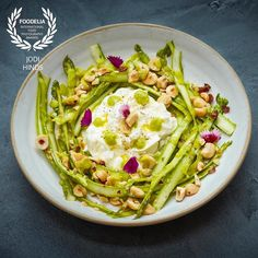 A gorgeous dish of shaved asparagus burrata & hazelnuts from the team @fucinalondon  Thrilled that it won an award! Thank you @foodelia  With the fabulous styling by @iaingrahamchef  with @thisismission  and the wonderful @theforgeuk  #foodphotography #foodphotographer #foodphotography #London #gourmetartistry #gastroart #food #foodie #foodart #instadaily #theartofplating #instafood #instachef #chefslife #instagramhub #igers #truecooks #chefstalk #chefsroll #foodstarz #thestaffcanteen…