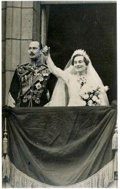 Prince Henry, Duke of Gloucester, and Lady Alice Montagu Douglas Scott (Princess Alice, Duchess of Gloucester), married 1935