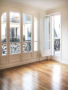 Wooden Flooring (Perfect Colour?), Windows & Balcony Railing