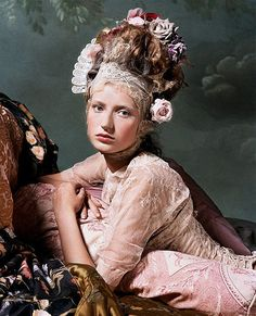 Fashion that Takes You Back - Rococo, Marie Antoinette inspired