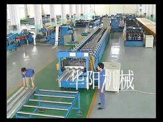 steel decking floor forming machine