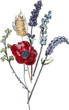 Jewelry Design Drawing, International Jewelry, Beaded Brooch, Jewelry Art, Jewellery, Beaded Flowers, Designs To Draw, Poppies, Orchids