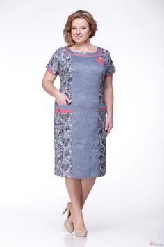 Платье Надин-Н 1279 джинс фото 1