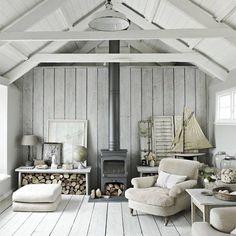 Living room neutral decor