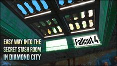 In this video, I'll show you how to get to the secret room above Diamond City the super-duper easy way. No need to spend an hour trying to shimmy up the side. Fallout 4 Secrets, Fallout 4 Tips, Fallout Facts, Fallout Game, Diamond City Fallout 4, Junkyard Dog, Marvel Avengers Movies, Secret Location, Fall Out 4