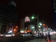 Sapporo, the Red Light District of Japan