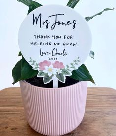 Term 4 starts back tomorrow here in SA - don't forget your Tecahers gifts. 🌿Teacher Planter stems are ready for you to gift an extra special thank you this year. Teacher Gift Baskets, Best Teacher Gifts, Teacher Appreciation Gifts, Employee Appreciation, Easy Homemade Gifts, Teacher Cards, Craft Gifts, Personalized Gifts, Elementary Counseling