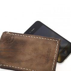 iPhone Tasche aus dickem Leder - ein hochwertiges Unikat