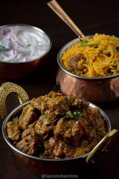 Lamb Recipes, Veg Recipes, Curry Recipes, Indian Food Recipes, Asian Recipes, Cooking Recipes, Lamb Dishes, Curry Dishes, Recipes