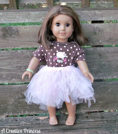 A Creative Princess: American Girl Doll Tutu (HoH117)
