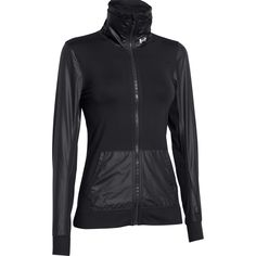Shop our Under Armour Womens Studio Essential Jacket in Black from Excell Sports UK.