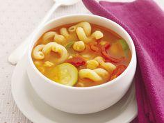Nudel-Tomaten-Suppe mit Kichererbsen - smarter - Zeit: 30 Min. | eatsmarter.de Kichererbsen reichern diese Nudelsuppe wunderbar an.