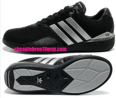 Adidas Running Porsche 550 Mens Shoes Rs Textile Triple Black Silver -$61.53|Cheap Adidas Sneakers