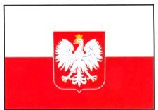 Poland Flag 5ft x 3ft With Eyelets For Hanging. (Qty per unit: 1). http://www.novelties-direct.co.uk/poland-flag-5ft-x-3ft-100-polyester-with-eyelets-for-hanging.html