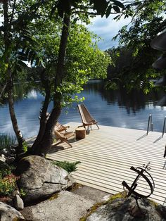 Gazebos, Lake Dock, Summer Cabins, Cabins In The Woods, Cottage Homes, Outdoor Living, Lakeside Living, Outdoor Spaces, My Dream Home
