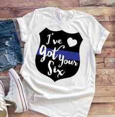 Police Tshirt This t-shirt is Made To Order, one by one printed so we can control the quality. Police Love, Leo Wife, Kids Shirts, T Shirts For Women, Police Shirts, T Shirt World, Thin Blue Lines, Diy Shirt, Direct To Garment Printer