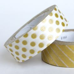 Gold Dots - Omiyage Washi Tape