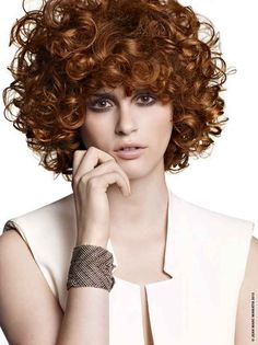 100 hairstyles trends for fall-winter 2013-2014 short curly cut Jean-Marc Maniatis | She Look Book