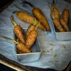 Fresh Roasted Carrots with Dill.  So easy and they taste amazing.  #grainfree #glutenfree #paleo #primal #repin
