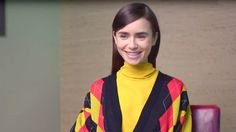 Watch Lily Collins Rap the Spice Girls Like Its Nobodys Business