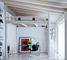 Rising revolutionizes spaces. The sleeping loft with electrically adjustable height by Cinius - ArchiExpo