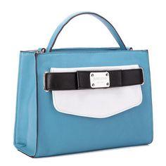 Ital. Damen Tasche Leder-Optik Handtasche Schultertasche Umhängetasche