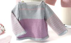Photo : Knitting For Kids, Baby Knitting, Baby Patterns, Knitting Patterns, Hood Pattern, Bebe Baby, City Chic, Knitwear, Baby Kids