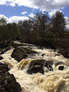 Cute day in Banchory at Falls of Feugh! My fav place! Scotland Travel, Aberdeen, Ponds, How Beautiful, Waterfalls, Rivers, Lakes, Country Roads, Twitter