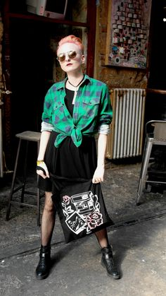 Fashion Story, Lace Skirt, Punk, Skirts, Style, Swag, Punk Rock, Stylus, Gowns