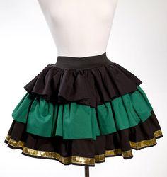 MADE TO ORDER Couture Loki Avengers Lolita Inspired Skirt