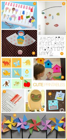 Cute Printables for Kids | Dotcoms for Moms