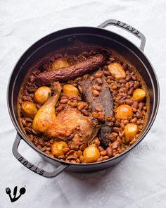 Freud and his Cholent: The Austrian Origins of the Jewish Bean Stew Bean Stew, Jewish Recipes, 4 Hours, Baked Beans, Consistency, The Dish, Pot Roast, Fork, Kitchens