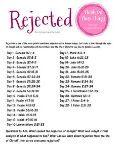 """{Affiliate links used} """"Rejection. It's a pattern in your life. You will have to fight it to overcome it"""", popped on my iPhone scr. Bible Study Plans, Bible Study Notebook, Bible Plan, Bible Study Journal, Scripture Reading, Scripture Study, Writing Plan, Vie Motivation, Bible Notes"""