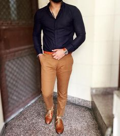 Super how to wear brogues men suits Ideas Formal Dresses For Men, Formal Men Outfit, Casual Outfits, Men's Formal Wear, Mens Fashion Suits, Mens Suits, Stylish Men, Men Casual, Moda Formal