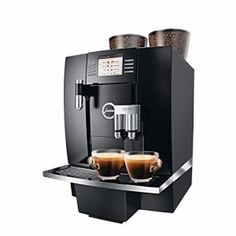 Jura GIGA Professional is the most advanced home/commercial super automatic machine available today. Coffee Machine Price, Barista Coffee Machine, Jura Coffee Machine, K Cup Coffee Maker, Filter Coffee Machine, Coffee Cafe, Coffee Shop, Commercial Coffee Machines, Coffee Machines For Sale