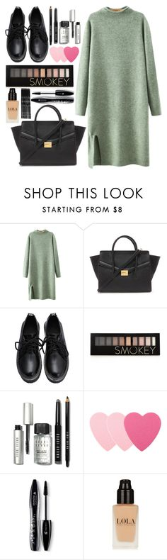 """""""blind date"""" by lindsaysarson ❤ liked on Polyvore featuring Chicnova Fashion, Forever 21, Bobbi Brown Cosmetics, Sephora Collection, Lancôme and Monki"""