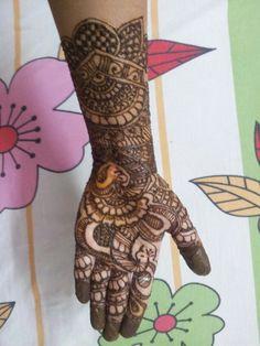 Mehendi design #5 Mehendi, Hand Henna, Hand Tattoos, Design, Design Comics, Arm Tattoos, Mehndi