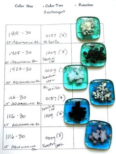nanette bevan: reactive glass
