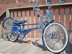 Lowrider bike