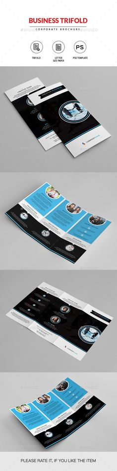 Corporate Business Landscape Brochure Corporate business - landscape brochure