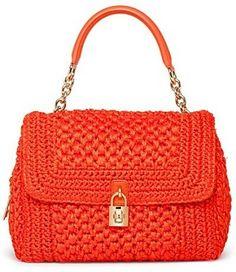 Субъективно о моде: Вечная классика: Вязаные сумки