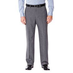 Featuring a stretch fabric blend and a hidden expandable waistband, these men's Haggar suit pants keep you feeling great at the office or any special gathering. Feeling Great, How Are You Feeling, Stylish Recliners, Suit Separates, Comfort Zone, Stretch Fabric, Thighs, Classic, Fitness