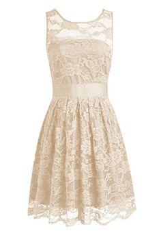 Wedtrend Women's Floral Lace Dress Bridesmaids Dress Shor...