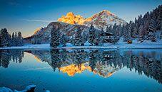 Lago Misurina, Cadore (Vêneto, Itália)