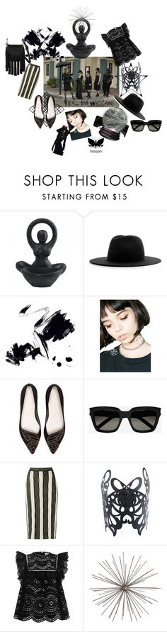 """🖤Summer 🖤Coven 🖤Dreams 🖤for🖤 that 🖤Coven 🖤Sister🖤"" by maijah ❤ liked on Polyvore featuring Coven, Études, Marmont Hill, Witch Worldwide, Sophia Webster, Yves Saint Laurent, Zimmermann, Arteriors, Chloé and dreamydresses"