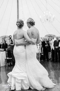 CT weddiing same sex wedding- hair that moves, wedding hairstyle