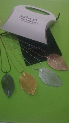Leaf necklaces now at Razzleberry Bling Leaf Necklace, Arrow Necklace, Fashion Ideas, Bling, Necklaces, My Favorite Things, Store, Jewelry, Jewellery Making