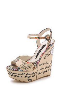 Cute wedge sandal for the wanderlust