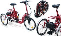 Electric Folding Tricycle DI BLASI Mod. R34